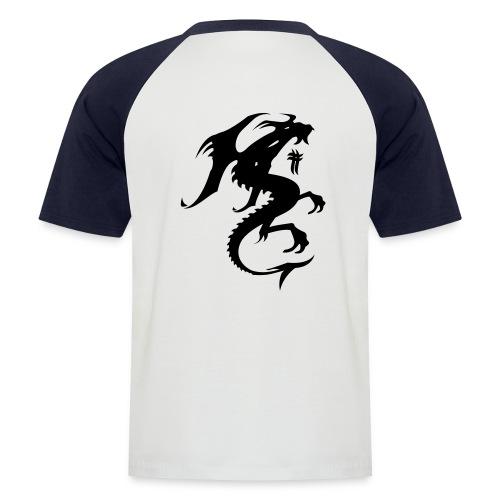 Dragon - Kortærmet herre-baseballshirt