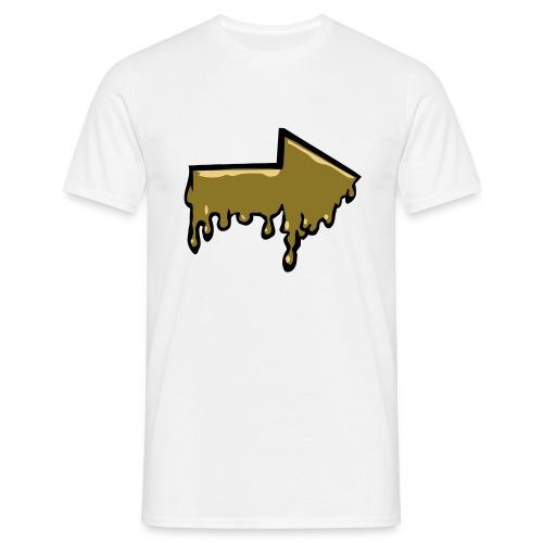 Melting Arrow - Men's T-Shirt