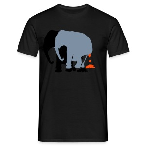 LovelyElephants - Men's T-Shirt