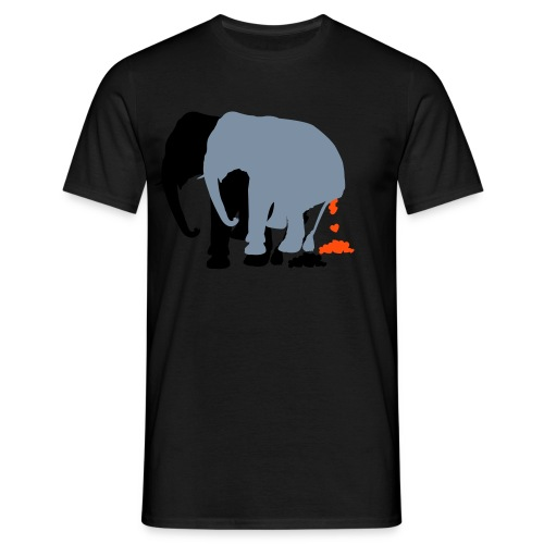 LovelyElephants - Men's T-Shirt