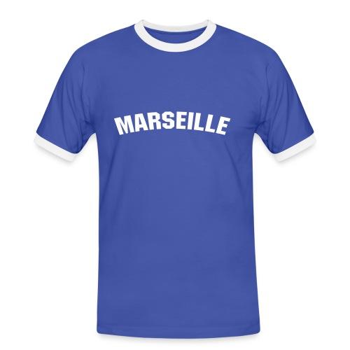 marseillebleu - T-shirt contrasté Homme