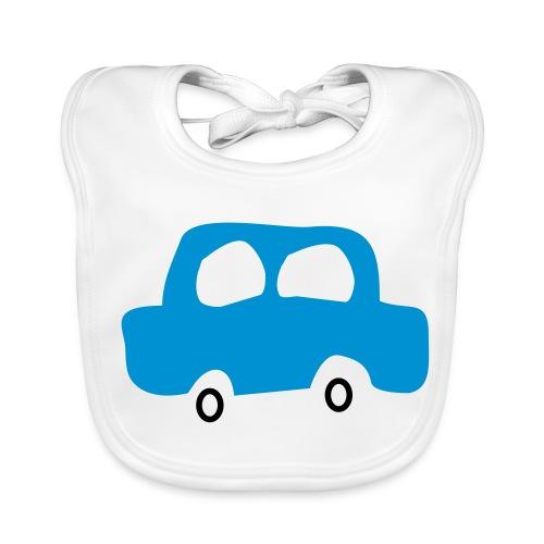 Car - Ekologisk babyhaklapp