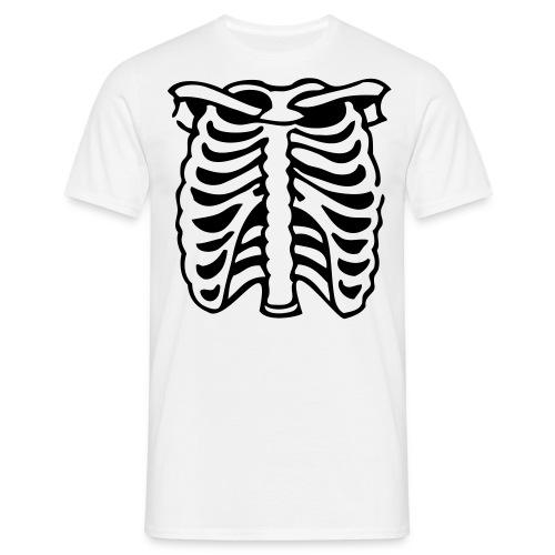 skelett - T-shirt herr