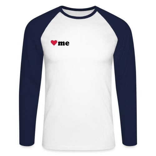 Fussball Rockt - Männer Baseballshirt langarm