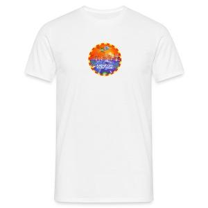World Dance 08/08/92 Rave Flyer - Men's T-Shirt