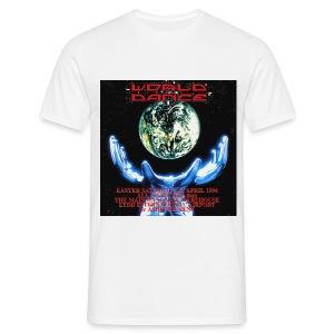 World Dance 02/04/94 Rave Flyer - Men's T-Shirt