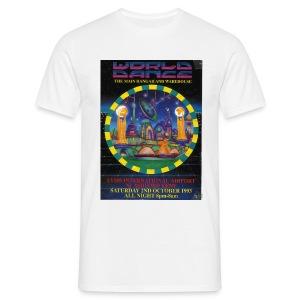 World Dance 02/10/93 Rave Flyer - Men's T-Shirt