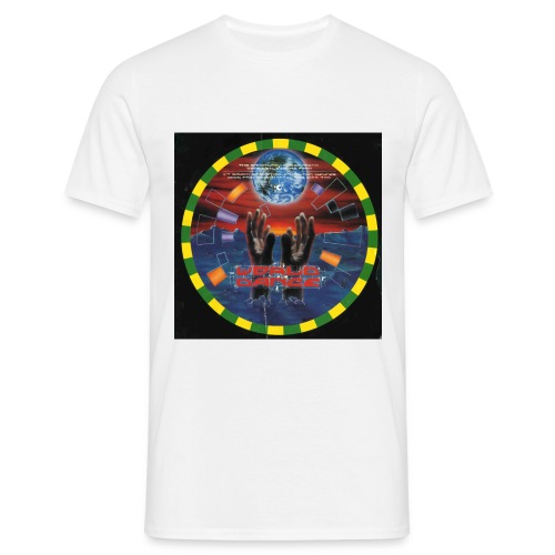 World Dance Rave Flyer - Men's T-Shirt