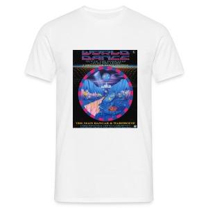 World Dance Rave Flyer - Men's T-Shirt