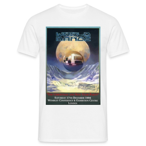 World Dance 17/12/94 Rave Flyer - Men's T-Shirt