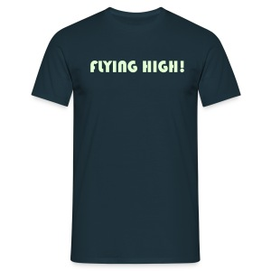 Flying High (Glow in the dark) T-shirt - Men's T-Shirt