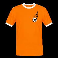 T-Shirts ~ Männer Kontrast-T-Shirt ~ VAN DER LATTE (6)