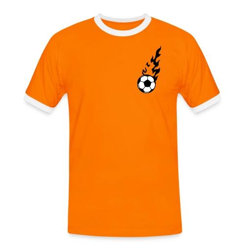 VAN DER LATTE (6) - Männer Kontrast-T-Shirt