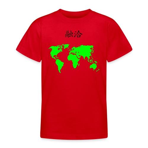 red world harmony - Teenage T-Shirt