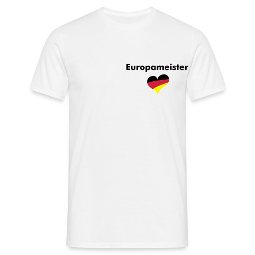 Europameister - Men's T-Shirt