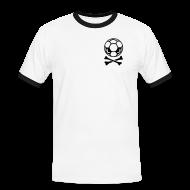 T-Shirts ~ Männer Kontrast-T-Shirt ~ O. P. TISCH 17