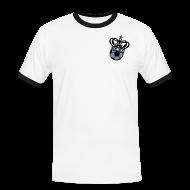 T-Shirts ~ Männer Kontrast-T-Shirt ~ VON WEGEN 11