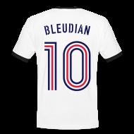 T-Shirts ~ Männer Kontrast-T-Shirt ~ BLEUDIAN 10 (Away)