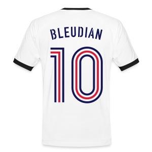 BLEUDIAN 10 (Away) - Männer Kontrast-T-Shirt