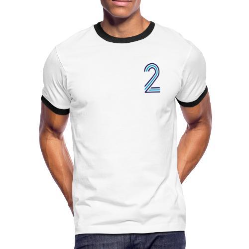 ZEMENTIDIS 2 - Männer Kontrast-T-Shirt