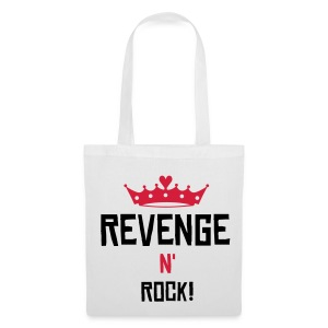 Bag-with-revenge-and-rock! - Stoffveske