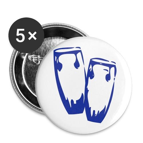 Klackdramma Münster Sticker - Buttons groß 56 mm (5er Pack)