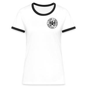 Rund 90 Minuten  - Frauen Kontrast-T-Shirt