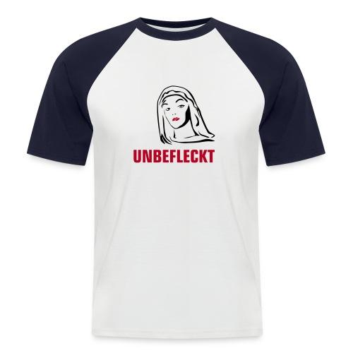 Unbefleckt - Männer Baseball-T-Shirt