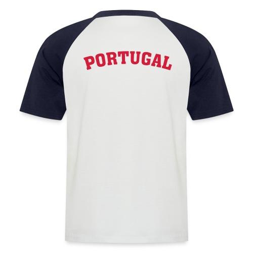 T-shirt baseball manches courtes Homme