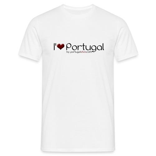 I love Pt - Confort-T Blanc H - T-shirt Homme