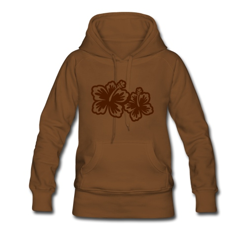 flowers - Vrouwen Premium hoodie