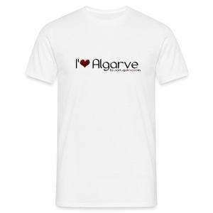 I love Algarve - Confort-T Blanc H - T-shirt Homme