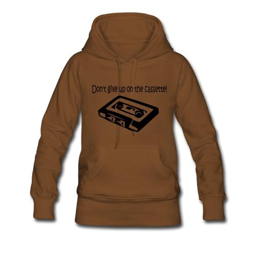 oldschool music - Vrouwen Premium hoodie