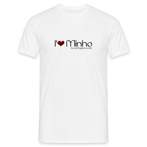I love Minho - Confort-T Blanc H - T-shirt Homme