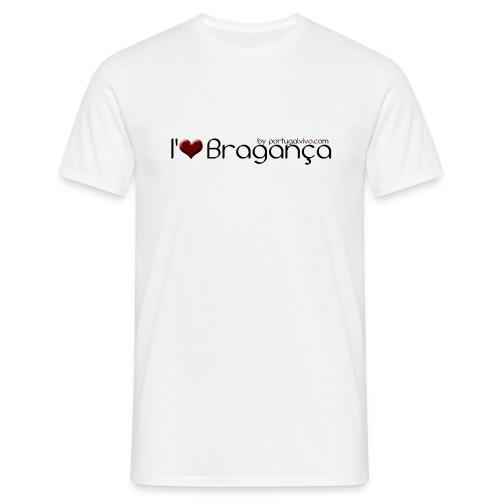 I love Bragança - Confort-T Blanc H - T-shirt Homme