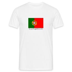 Drapeau Portugal - Confort-T Blanc H - T-shirt Homme