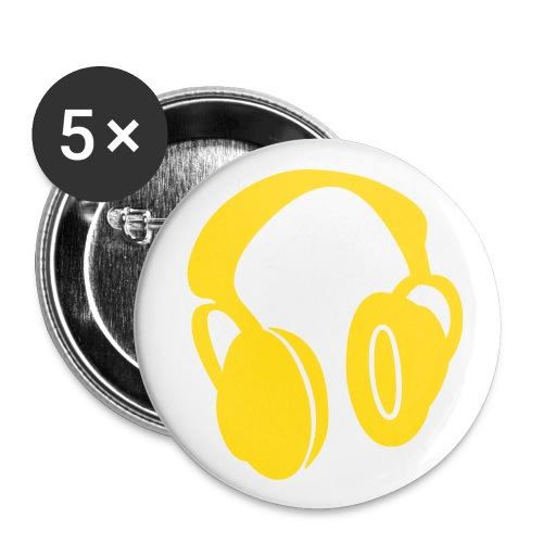headfone - Buttons klein 25 mm