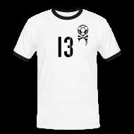 T-Shirts ~ Männer Kontrast-T-Shirt ~ FREITAG 13 (Home)
