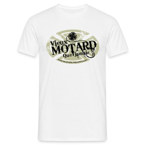Vieux motard...| tee-shirts homme - T-shirt Homme