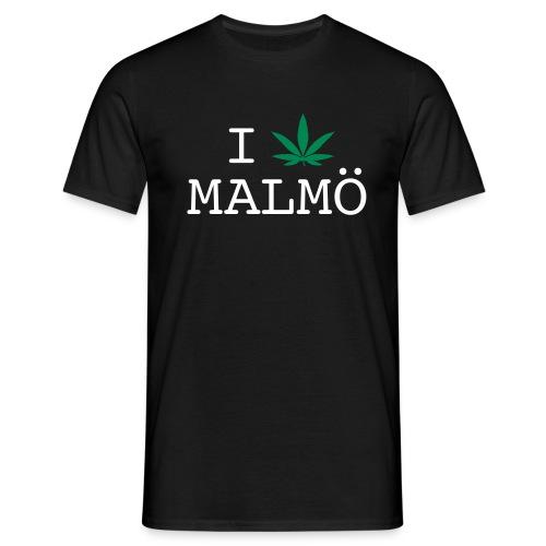 I löv Malmö - Men's Tee - T-shirt herr