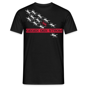 Ants - black shirt - Männer T-Shirt