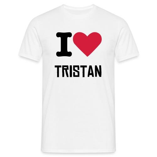 I Heart Tristan Tee - Men's T-Shirt