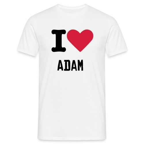 I Heart Adam Tee - Men's T-Shirt