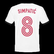 T-Shirts ~ Männer Kontrast-T-Shirt ~ ZLADKO SIMPATIC 8
