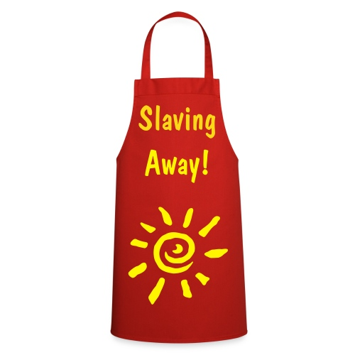 Slaving away cooking apron - Cooking Apron