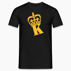 Black K - Crown - Letters T-Shirts