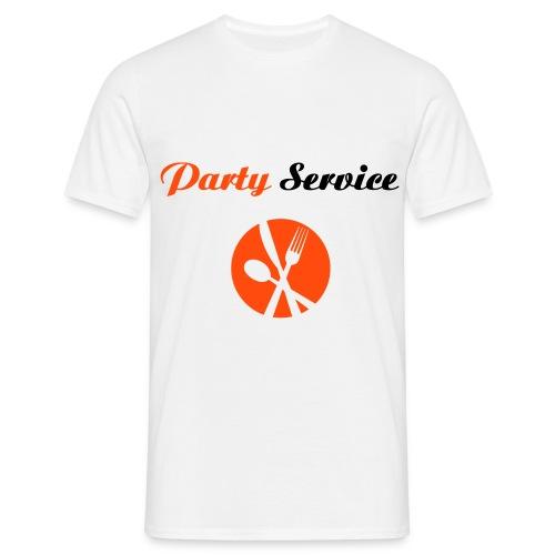 Party Service - Männer T-Shirt