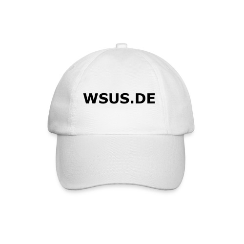 WSUS Community Base Cap (white) - Baseballkappe