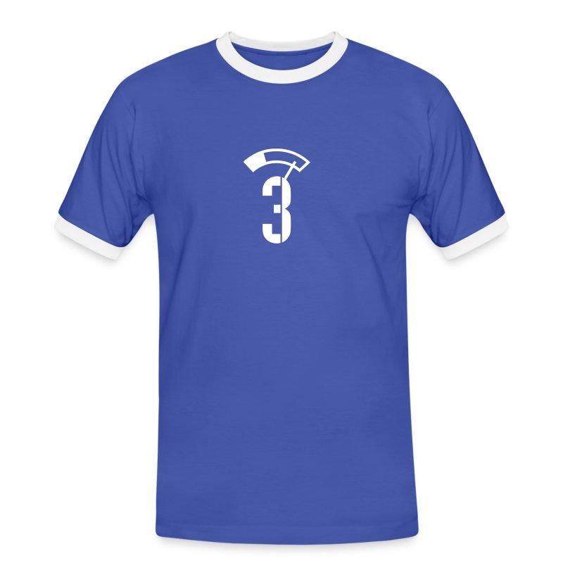 PILSKOPP 3 PROMILLE - Männer Kontrast-T-Shirt