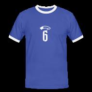 T-Shirts ~ Männer Kontrast-T-Shirt ~ PEGEL 6 PROMILLE